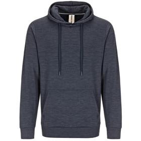 super.natural M's Essential Hoodie Navy Blazer Melange